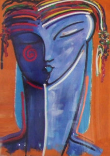 La Femme Embellished Limited Edition Print by Gaylord Soli  (Gaylord)