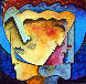 Faces of Man 60x60 Original Painting by Gaylord Soli  (Gaylord) - 0