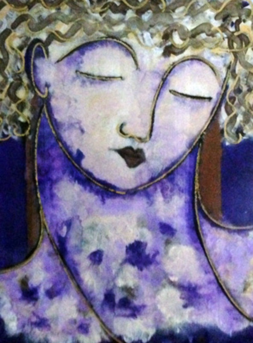 Mujer 1998 Limited Edition Print by Gaylord Soli  (Gaylord)