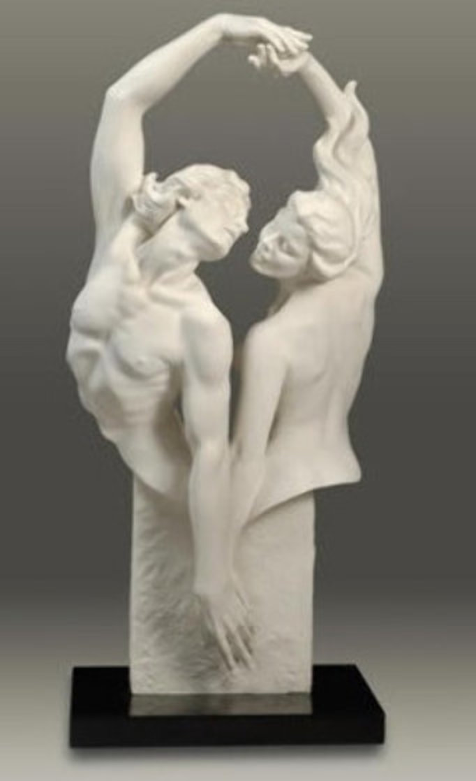 Dances Of Passion Parian Sculpture 2006 32 in Sculpture by Gaylord Ho