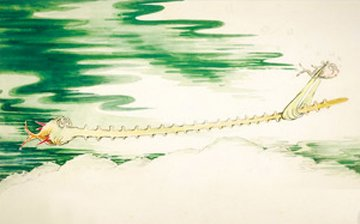 Sawfish With Such a Long Snout 2004 Limited Edition Print - Dr. Seuss