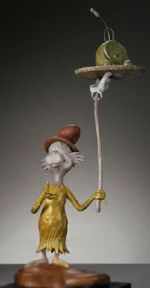 Green Eggs And Ham Bronze Sculpture Maquette Edition 2006 Sculpture - Dr. Seuss