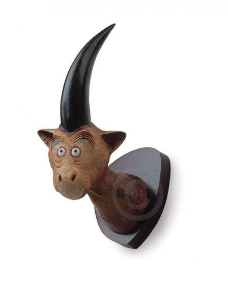 Mulberry Street Unicorn Resin Sculpture 2002 14 in Sculpture by Dr. Seuss