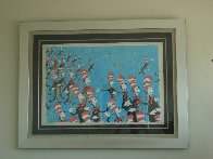 Singing Cats 1967 Limited Edition Print by Dr. Seuss - 1