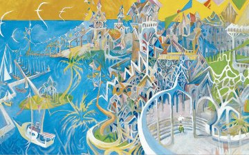 I Dreamed I Was a Doorman At the Hotel Del Coronado 2003 Limited Edition Print by Dr. Seuss