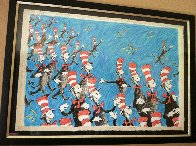 Singing Cats 1967 Limited Edition Print by Dr. Seuss - 2