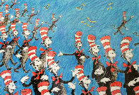 Singing Cats 1967 Limited Edition Print by Dr. Seuss - 0