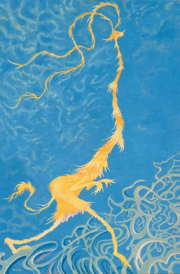 Golden Girl 1990 Limited Edition Print by Dr. Seuss
