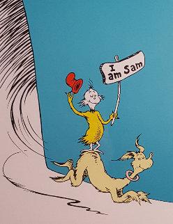 I Am Sam Limited Edition Print - Dr. Seuss