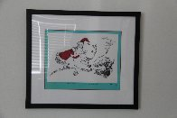 If I Can't Find a Reindeer, I'll Make One Instead! 1998 Limited Edition Print by Dr. Seuss - 1