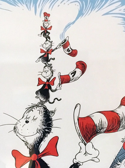 Little Cats B, C and A 2007 Limited Edition Print by Dr. Seuss