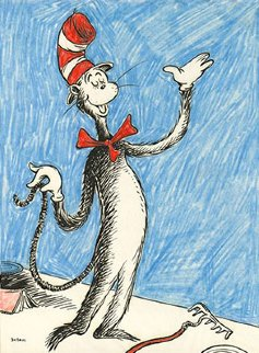 Cat That Changed the World 2012 Limited Edition Print by Dr. Seuss