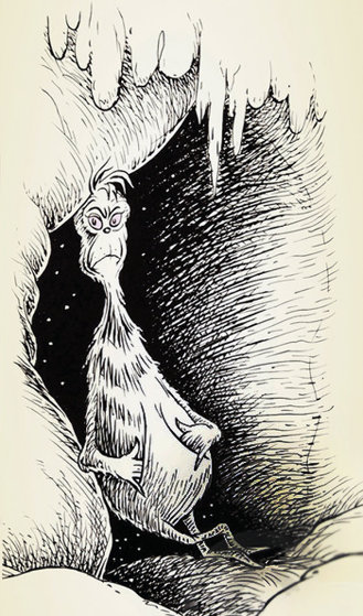 Grinch At Mount Crumpit 2004 Limited Edition Print by Dr. Seuss