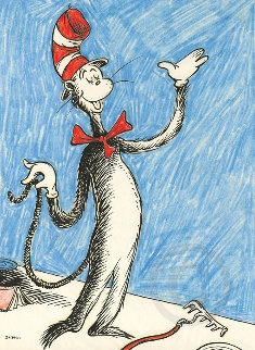 Cat That Changed the World 2014 Limited Edition Print by Dr. Seuss