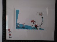 A Game I Call Up Up Up With a Fish 1997 Limited Edition Print by Dr. Seuss - 1