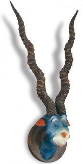 Blue Green Abelard Resin Sculpture 1999 Sculpture by Dr. Seuss