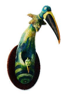 Kangaroo Bird Resin Sculpture 23 in Sculpture by Dr. Seuss