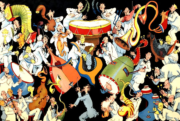 Incidental Music For a New Years Eve Party 2010 Limited Edition Print by Dr. Seuss
