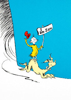 I Am Sam 1999 Limited Edition Print - Dr. Seuss