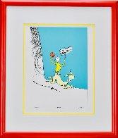Illustration Art Portfolio I: Suite of 5 Prints 1998 Limited Edition Print by Dr. Seuss - 1