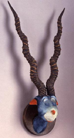 Unorthodox Taxidermy 13 sculptures Rare Set: Blue Green Abelard, Tufted Gustard plus 11 Sculpture by Dr. Seuss