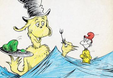I Like Them, Sam I Am Limited Edition Print - Dr. Seuss