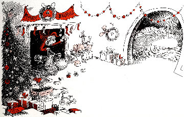 If Santa Could Do It, Then So Could the Grinch 1957 Limited Edition Print by Dr. Seuss