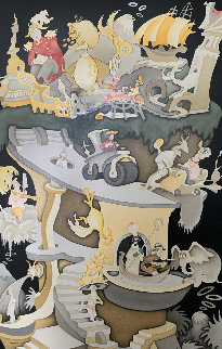 Tower of Babel 2002 Limited Edition Print - Dr. Seuss