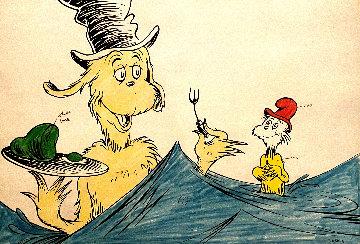 "Dr. Seuss, ""I Like Them, Sam - I - Am Limited Edition Print - Dr. Seuss"