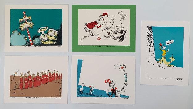 Illustration Portfolio I : 5 Prints Including I Am Sam Limited Edition Print by Dr. Seuss