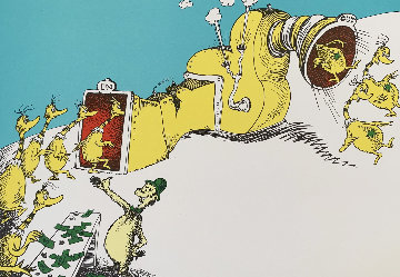 Sneetches 1999  Limited Edition Print - Dr. Seuss
