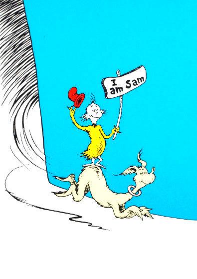 I Am Sam 1999 Limited Edition Print by Dr. Seuss