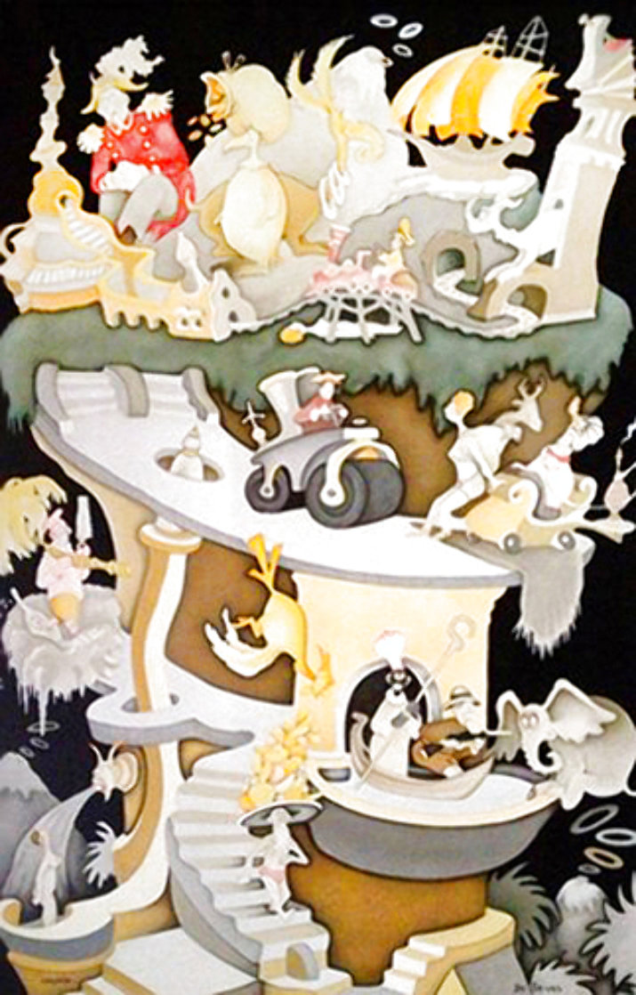 Tower of Babel 2004 Limited Edition Print by Dr. Seuss
