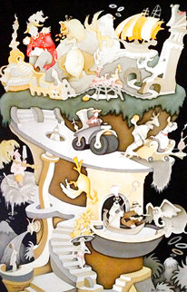 Tower of Babel 2004 Limited Edition Print - Dr. Seuss