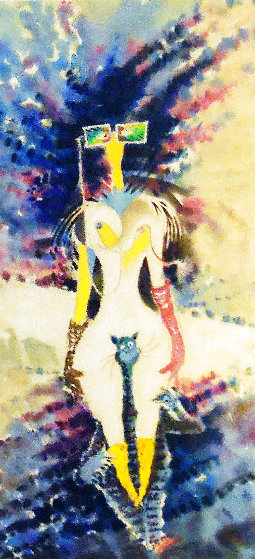 Rather Odd Myopic Women Riding Piggyback on One of Helen's Cats 2006 Limited Edition Print by Dr. Seuss