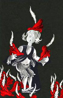 500 Hats of Bartholomew Cubbins 75th Anniversary Print Limited Edition Print - Dr. Seuss