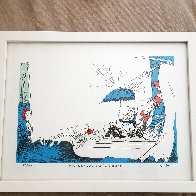 I Like to Eat Cake in the Tub Limited Edition Print by Dr. Seuss - 1