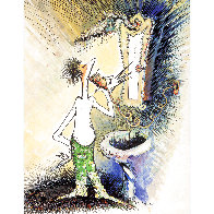 Self Portrait As a Young Man Shaving 1999 Limited Edition Print by Dr. Seuss - 0