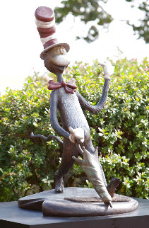 Cat in the Hat Bronze Sculpture 2006 48 inch Sculpture - Dr. Seuss