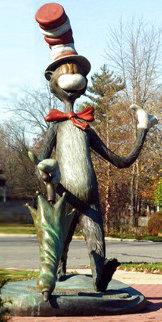 Cat in the Hat Monumental Bronze Sculpture 2006 48 in Sculpture - Dr. Seuss