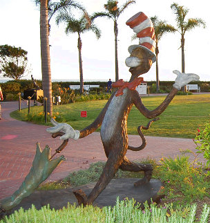Cat in the Hat Monumental Bronze Sculpture 2006 48 in Sculpture - Dr. Seuss