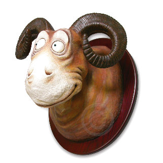Goo Goo- Eyed Tasmanian Wolgast  2007  Sculpture - Dr. Seuss