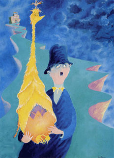 Man who has Made an Unwise Purchase 1997 Limited Edition Print by Dr. Seuss