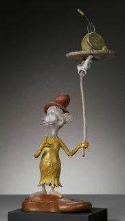 Green Eggs and Ham Bronze Sculpture Sculpture by Dr. Seuss