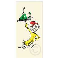 Teds Cat, Cat in the Hat,  50th Anniversary Icon Suite of 6, Matching Numbers Limited Edition Print by Dr. Seuss - 5