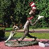 Cat in the Hat Monumental Bronze Sculpture 2006 Sculpture by Dr. Seuss - 2