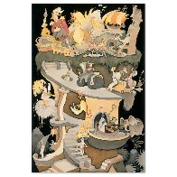 Tower of Babel CP 2002 Limited Edition Print by Dr. Seuss - 1