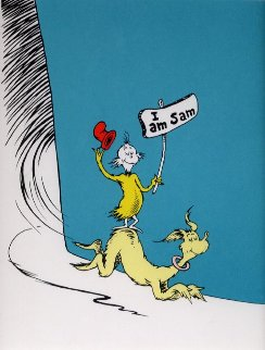 I Am Sam 1999 Limited Edition Print by Dr. Seuss