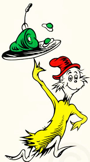 Green Eggs And Ham - 50th Anniversary Edition  Limited Edition Print by Dr. Seuss