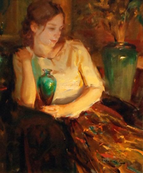 Laurel 2002 27x23 Original Painting by Daniel Gerhartz